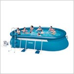 "Каркасный бассейн ""Oval Frame Pool"" 549х305х107см Intex (54432)"