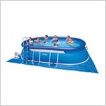 "Каркасный бассейн ""Oval Frame Pool"" 610х366х122см Intex (57982)"